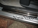 Nataniko Накладки на пороги Citroen C4 2004-2010 (3 двери)