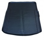 Коврик в багажник автомобиля Volkswagen Phaeton 2002- полиуретановый черный