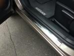Накладки на пороги Nissan Qashqai 2014-