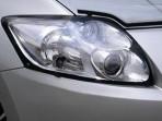 Защита фар Toyota Auris 2007-2013 прозрачная