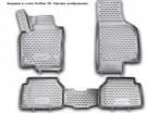 3D Коврики в салон для Volkswagen Jetta 2011- черные