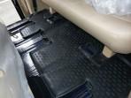 Коврики в салон для Hyundai H1 2007- (3-й ряд) черные