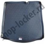 Резиновый коврик в багажник Citroen C-Elysee 2013-