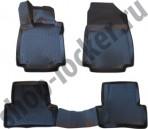 L.Locker 3D коврики в салон для Renault Clio 4 2012- Hatchback