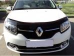 Дефлектор капота для Renault Sandero 2013-