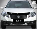 Дефлектор капота для Suzuki SX4 2013-