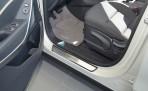 Nataniko Накладки на пороги Hyundai Santa Fe (DM) 2013-