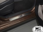 Накладки на пороги Hyundai i10 2013-