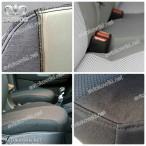 EMC Elegant Автомобильные чехлы Daewoo Lanos 1996- (фальш-подголовники)