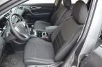 Чехлы из ЭКОкожи для Nissan X-Trail (T32) 2014- SE (с подлокотником) серая строчка