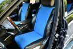 AVторитет Накидки на сиденья автомобиля синие (комплект)