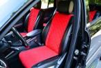 AVторитет Накидки на сиденья автомобиля красные (комплект)