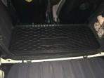 коврик в багажник Смарт 450 1998- полиуретановый Автогум