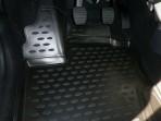 3D коврики в салон для Renault Duster 2015- черные