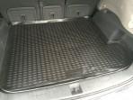 Коврик в багажник автомобиля Subaru Tribeca 2007- полиуретановый черный