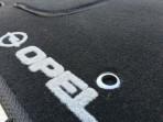 Коврики в салон текстильные для Opel Insignia 2008- черные Fortuna