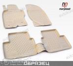 NorPlast Коврики в салон для BMW X5 (F15) 2013- бежевые