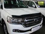 Дефлектор капота для Toyota Land Cruiser 200 2015-