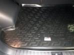 Резиновый коврик в багажник Kia Sportage 4 2016-