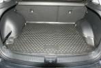 Коврик в багажник автомобиля Hyundai Creta 2016- полиуретановый черный