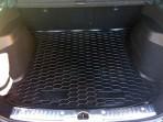 Купить коврик в багажник Пежо 308 Универсал 2008- (5 мест) полиу