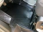 3D коврики в салон для Ford Custom 2012- (9 мест)