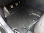 3D коврики в салон для Toyota Corolla 2016- черные