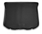 Коврик в багажник автомобиля Ford Edge 2012- полиуретановый черный