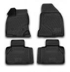 Novline 3D коврики в салон для Ford Edge 2012- черные