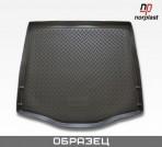 Коврик в багажник для Opel Astra J Sedan (полноразмерная запаска) 2009- полиуретановый