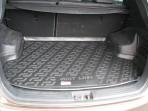 Резиновый коврик в багажник Hyundai ix35 2010-