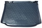 Резиновый коврик в багажник для Skoda Roomster 2006-