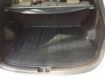 Коврик в багажник для Hyundai Santa Fe (DM) 2013- полиуретановый