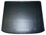 Коврик в багажник для Nissan X-Trail (T31) 2007- без полки полиуретановый