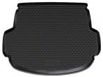 Коврик в багажник автомобиля Hyundai Santa Fe (DM) 2013- 5-мест полиуретановый черный