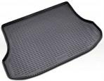 Коврик в багажник автомобиля Kia Sorento 2009-2013 5-мест полиуретановый черный