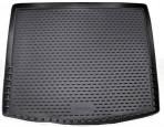 Коврик в багажник автомобиля Kia Sorento 2009-2013 7-мест полиуретановый (длинный) черный