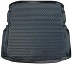 Коврик в багажник автомобиля Skoda Octavia A7 2013- полиуретановый черный