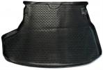 Коврик в багажник автомобиля Toyota Corolla 2013- полиуретановый черный