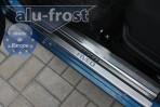 Alufrost Накладки на пороги Chevrolet Aveo 2003-2012