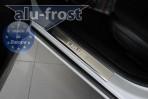 Накладки на пороги Chevrolet Cruze 2009-