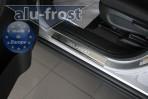 Alufrost Накладки на пороги Chevrolet Orlando 2011-