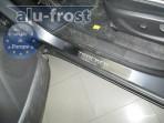 Накладки на пороги Chevrolet Tracker 2013-