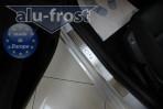 Alufrost Накладки на пороги Citroen C4 2010-