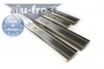 Alufrost Накладки на пороги Citroen C4 2004-2010 5 дверей