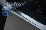 Alufrost Накладки на пороги Fiat Doblo CARGO MAXI 2010-
