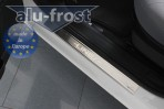 Alufrost Накладки на пороги Fiat Linea 2007-