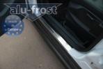 Alufrost Накладки на пороги Ford C-Max 2010-