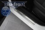 Alufrost Накладки на пороги Ford Fiesta 2008- 5 дверей