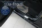 Alufrost Накладки на пороги Geely MK 2006-